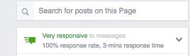 facebook respuestas