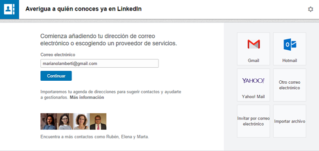 optimiza linkedin